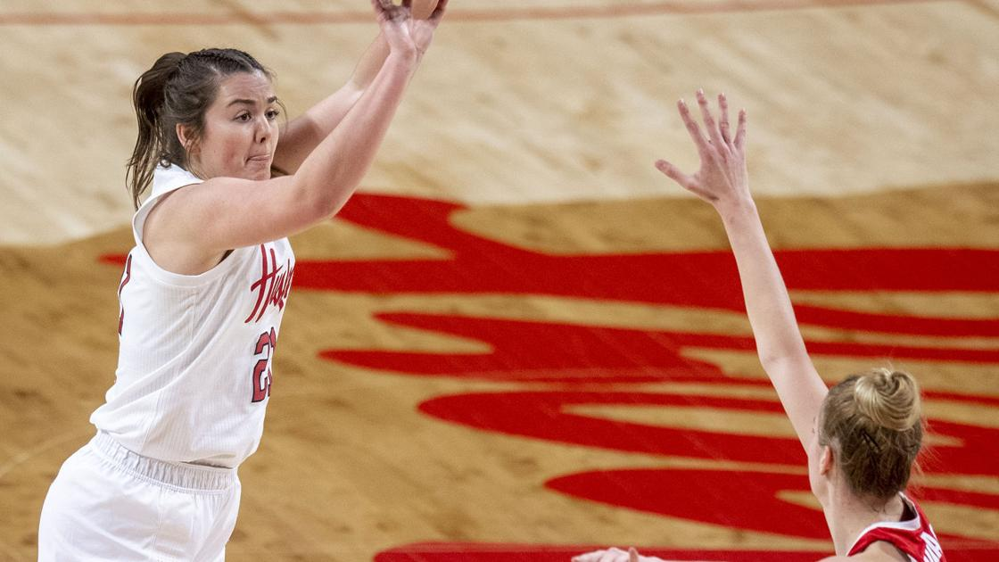 Whether on the outdoor courts or inside after practice, Husker freshmen proving their will to work