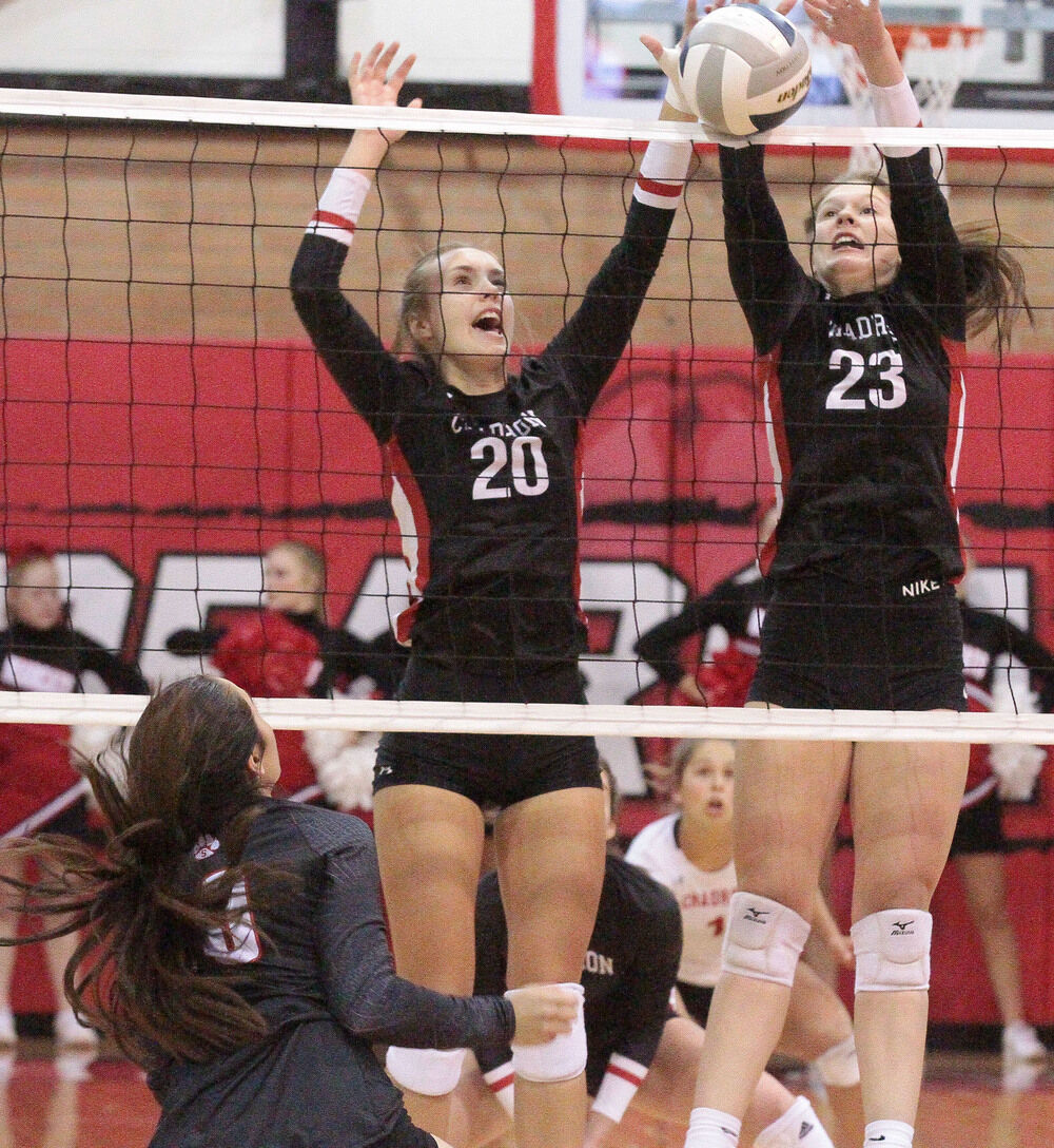 Cardinals sweep Bearcats volleyball