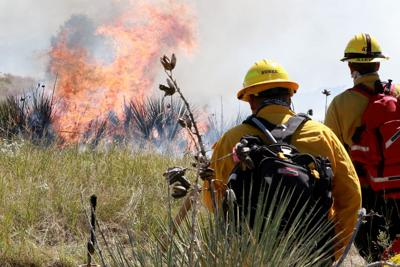 Regional firefighters complete exercises in Wildcat Hills