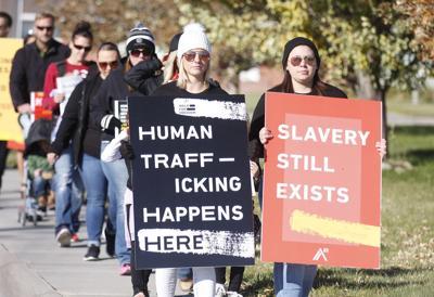 Local walk brings awareness to human trafficking