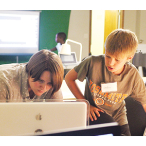 Area youth enjoy creating hands-on animation