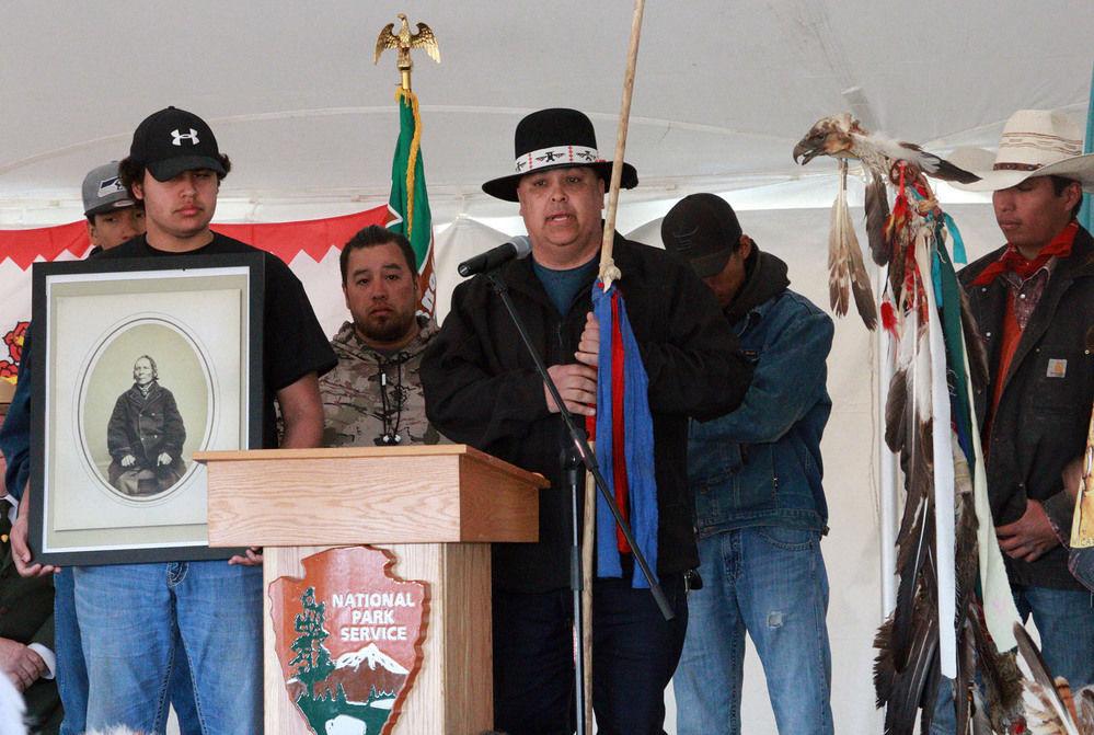 Honoring the Spirit: tribes, government commemorate 1868 Fort Laramie Treaty
