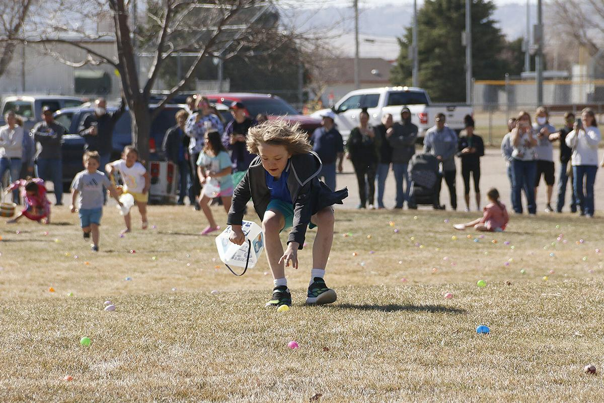 Egg hunt returns after last year's hiatus