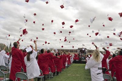 On their way: 172 Scottsbluff seniors celebrate a milestone in education