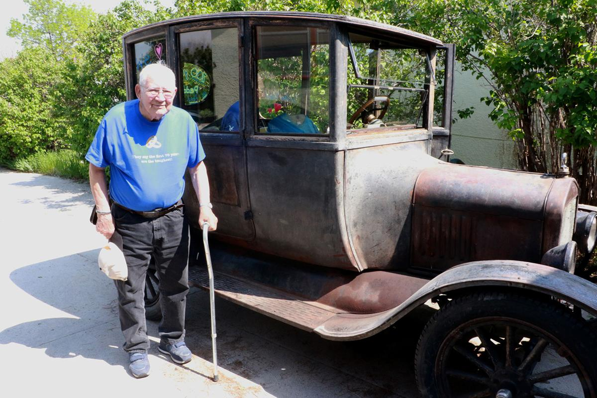 Johnstons prepare for Sugar Valley Rally with 100-year-old car