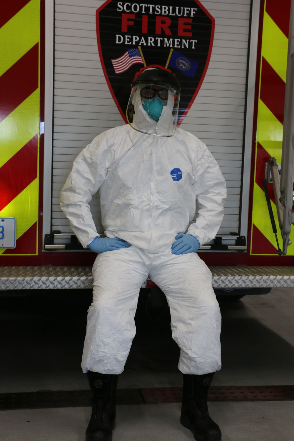 First responders among those needing personal protective equipment during pandemic