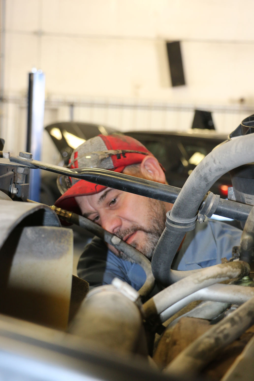 From weed eaters to motor graders, central garage does it all