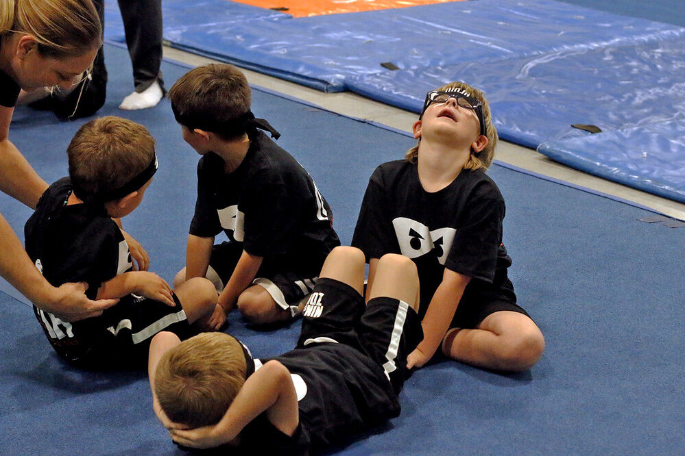 Carpenter Center opens ninja training program for kids