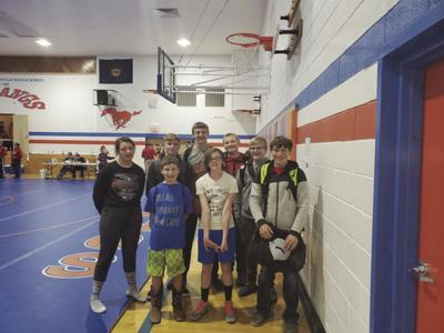 Junior Wrestlers take to the mats