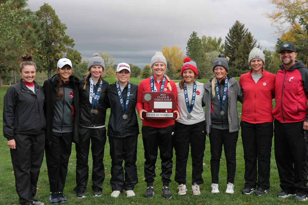 Scottsbluff golf finishes second at state
