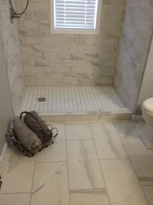 A & R Wood & Tile Installations | Bathroom Shower & Floor Tile