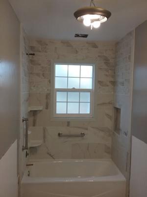 A & R Wood & Tile Installations | Bathroom Shower Tile