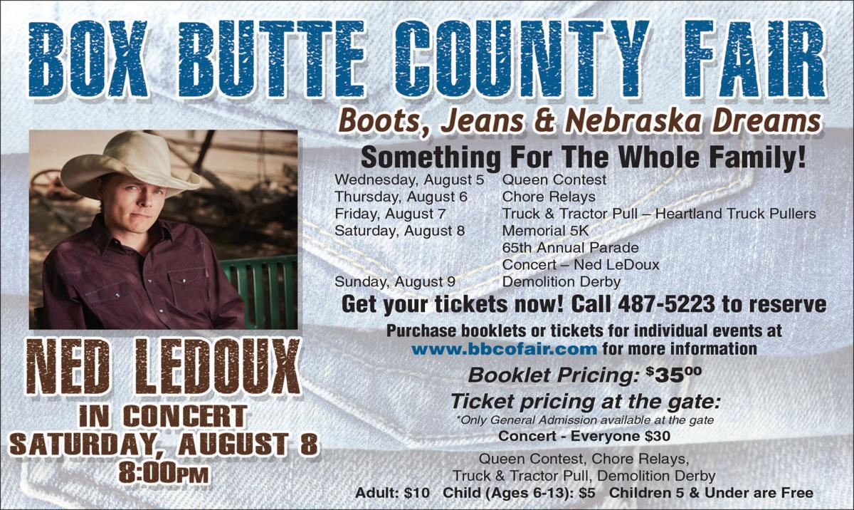 Box Butte Co. Fair Schedule Released