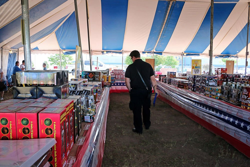 Fireworks stands checked for safety as sales begin