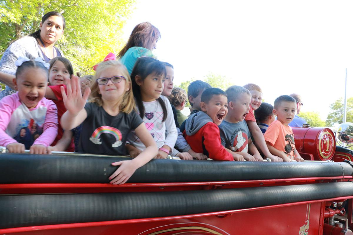 PHOTOS: Lincoln Elementary Fire Safety 2019