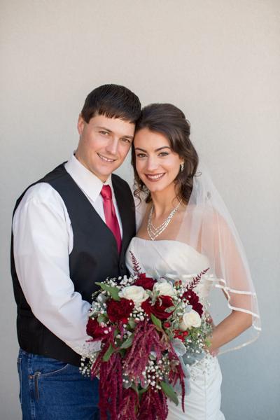 Hannah Grace Christian and Chad Benjamin Blackburn