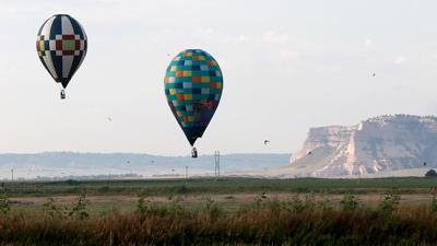 Aiming for the target: National balloonists complete four tasks Wednesday morning