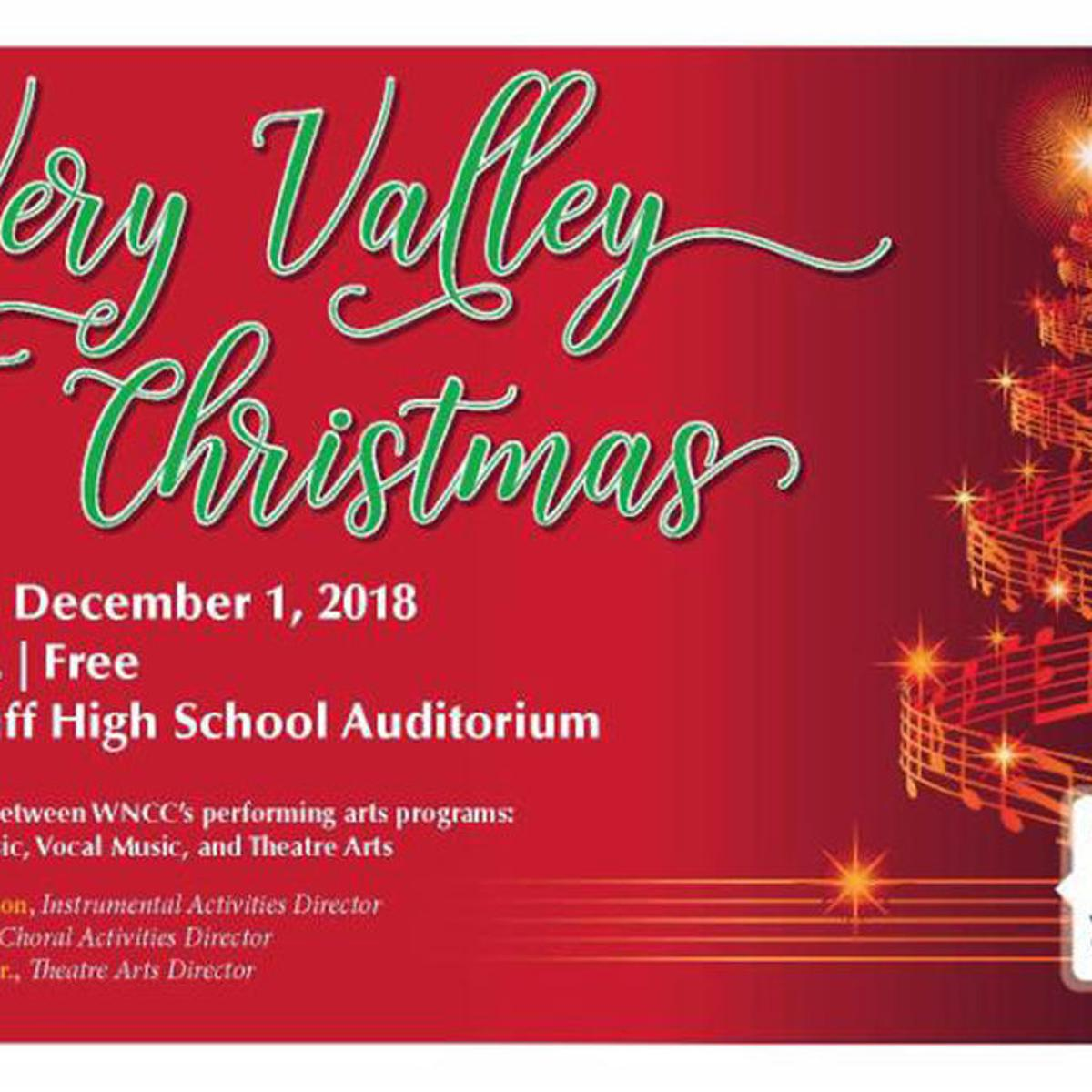 WNCC performing arts showcases holiday tunes with 'A Very Valley
