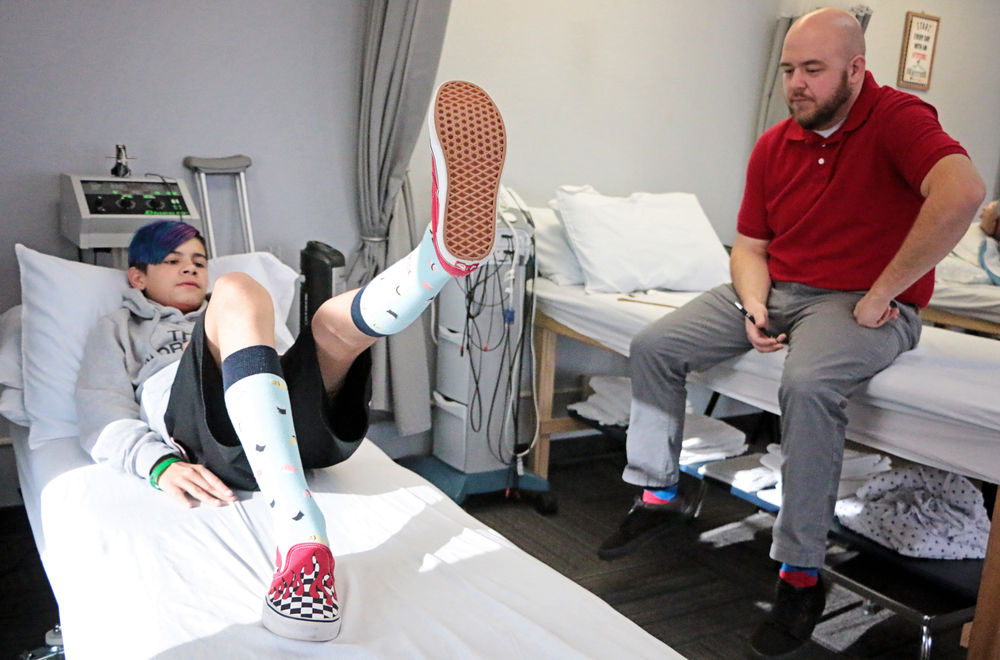 12-year-old continues to recover from crash: JP Walgren is suffering from the physical, and mental, scars of being struck from a vehicle in September