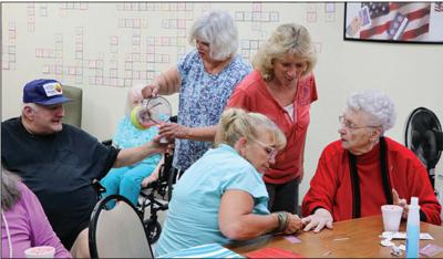 HCCC Residents Pampered