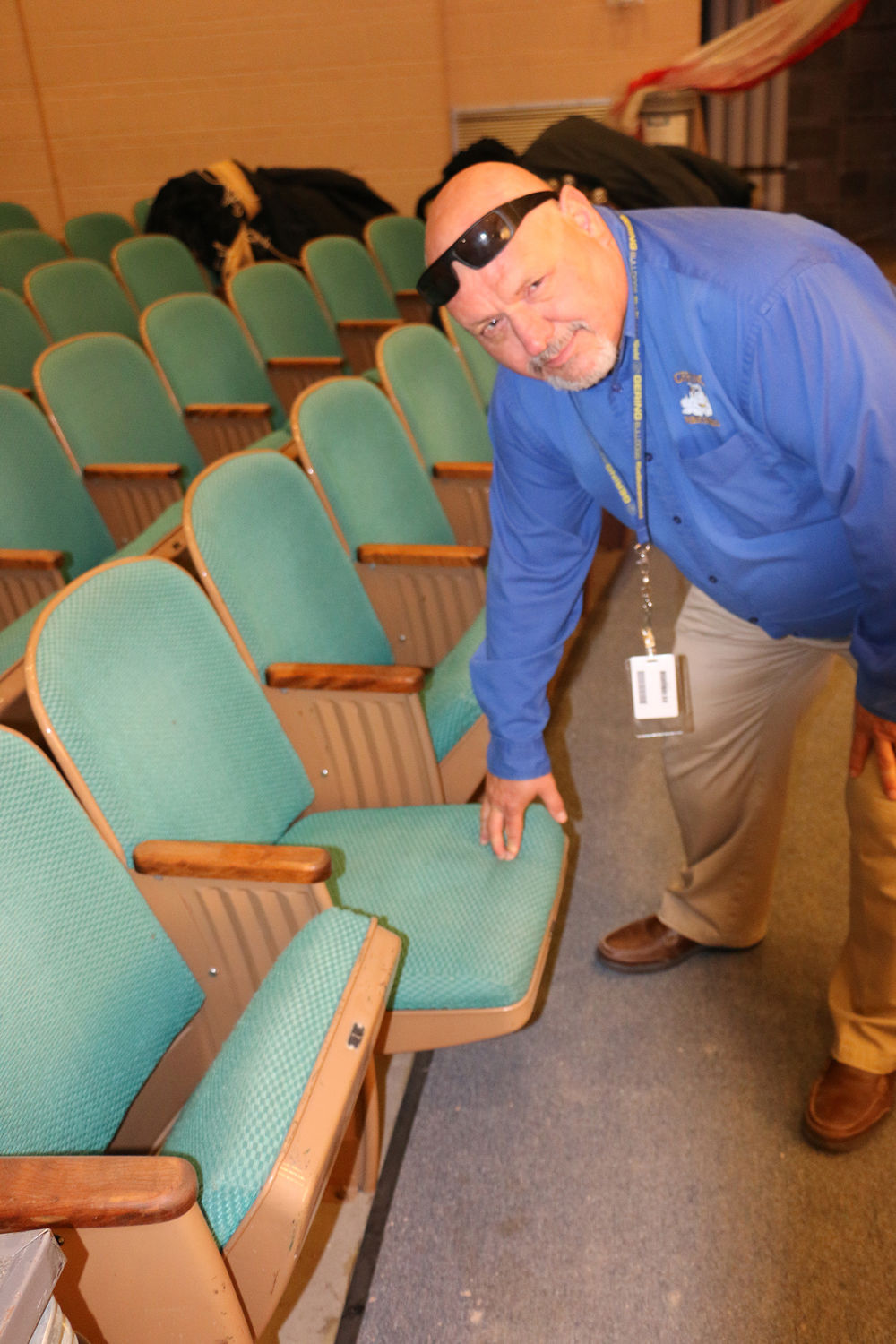 Gering to replace auditorium seats, resurface practice track