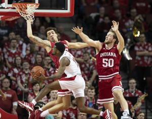 Nebraska basketball couldn't capitalize during Indiana scoring drought, suffer a Big Ten loss