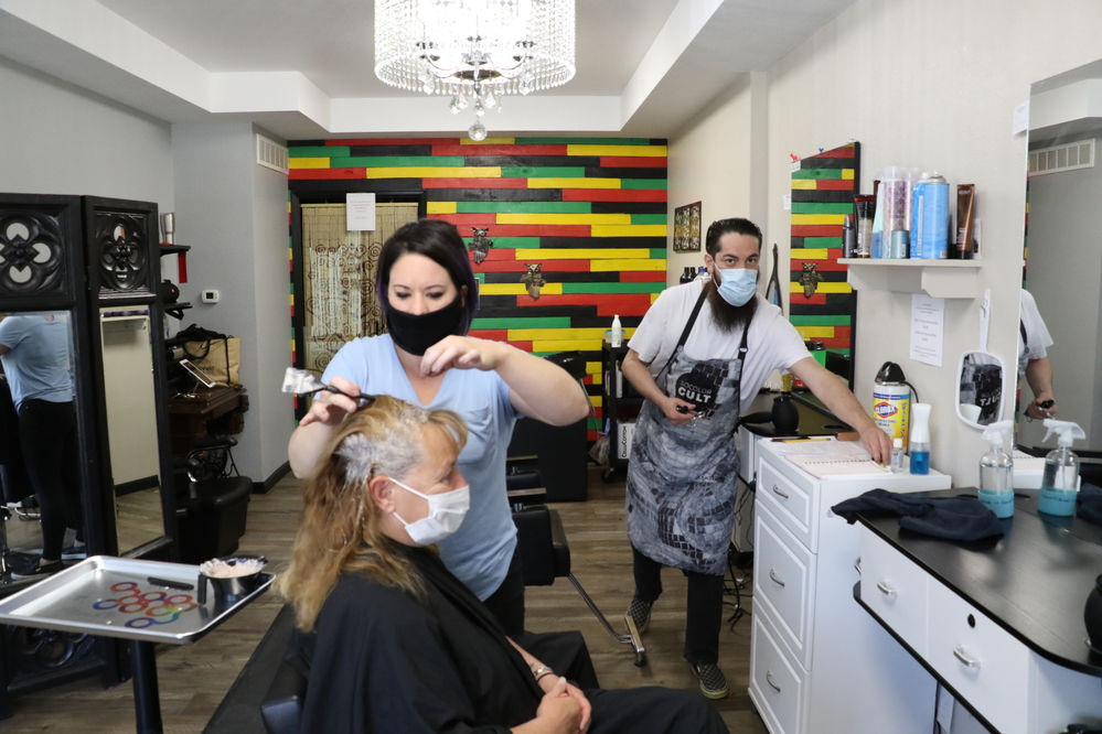 Cosmetologists navigate COVID-19 health safety challenges and product shortages