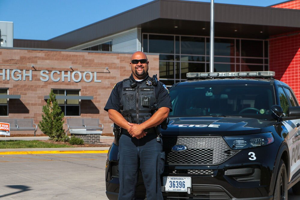Ron Wilson takes over as Scottsbluff High Schools' new School Resource Officer