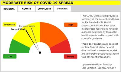 Five more cases of COVID-19 detected in Panhandle