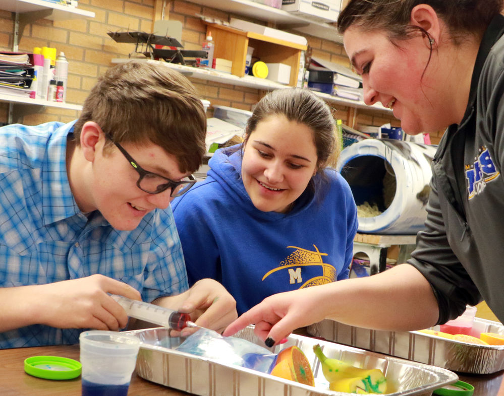 Kimball woman uses life lessons learned on family farm in the classroom