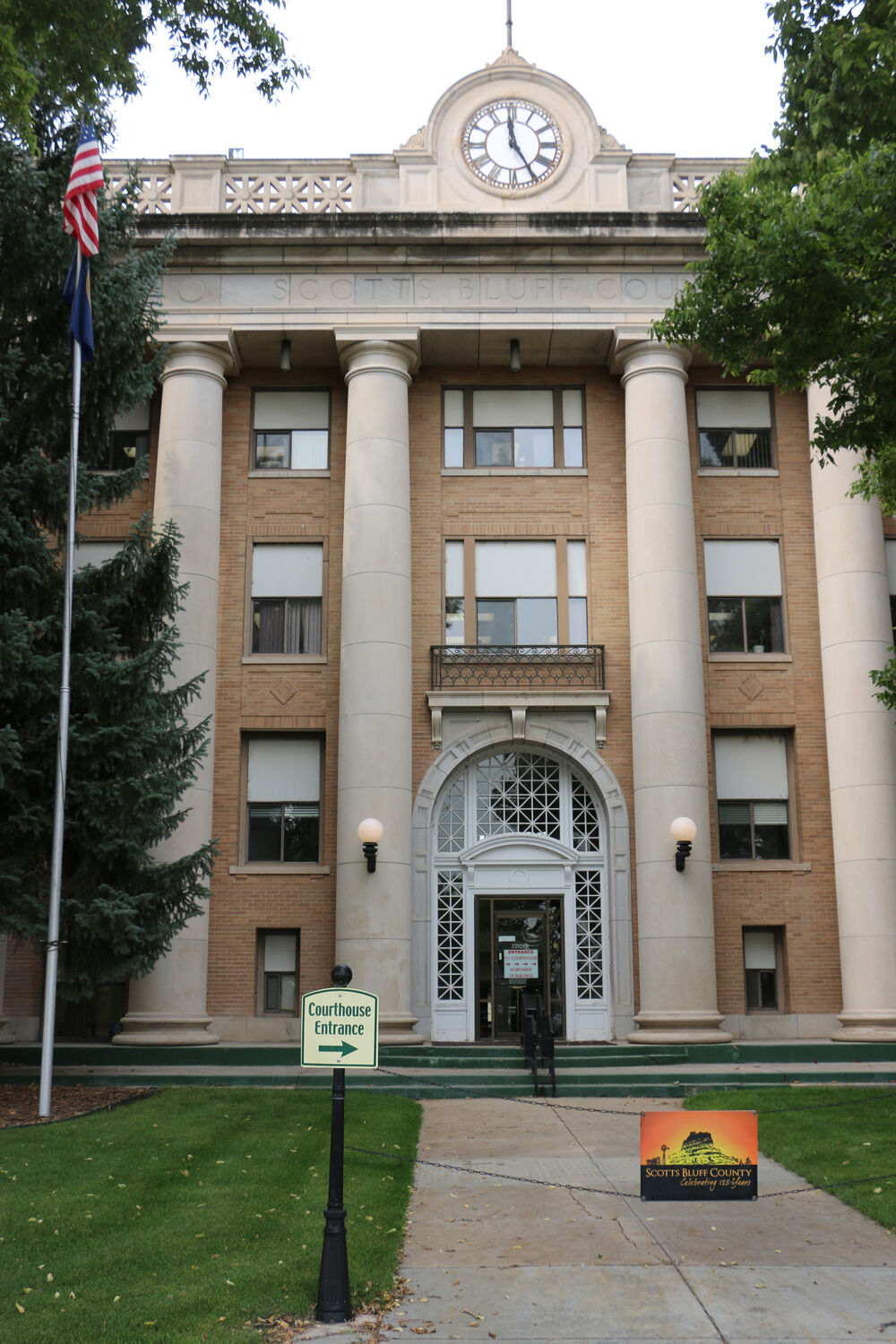 Scotts Bluff County building reaches 100 years