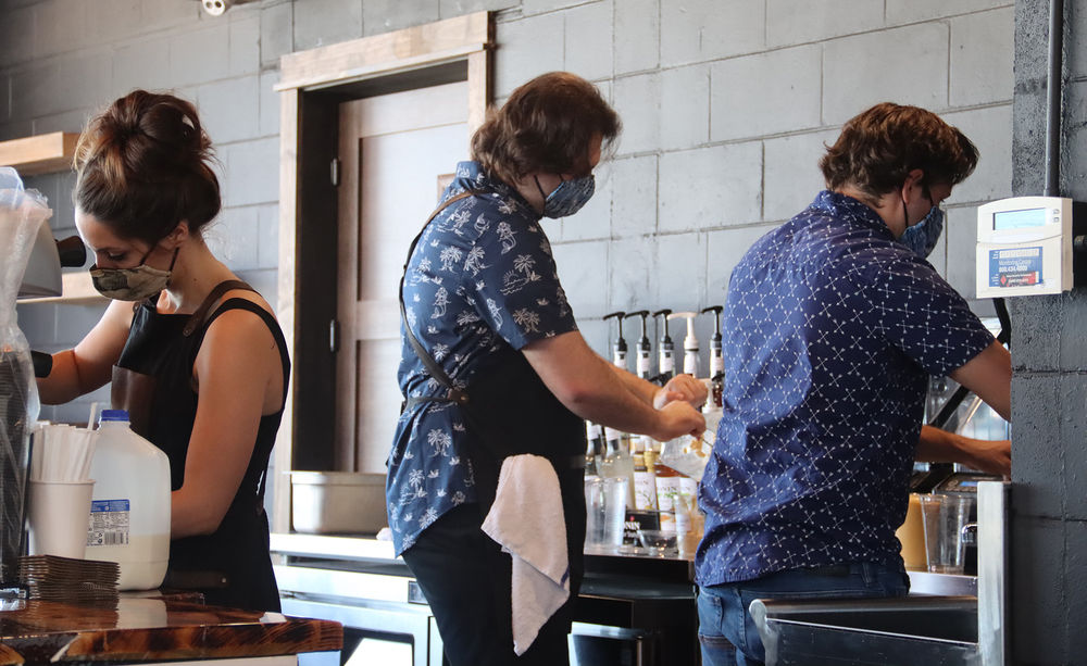 Local couple launches Luna Bean Coffee House