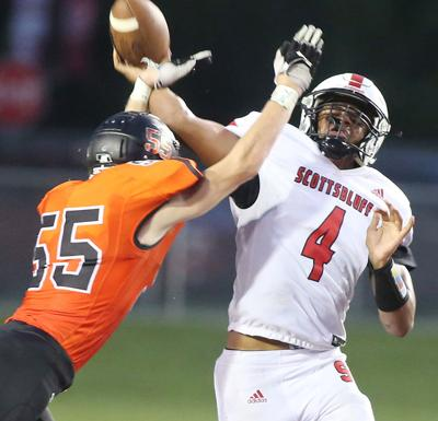 Scottsbluff rolls over Hastings in early state-rated showdown