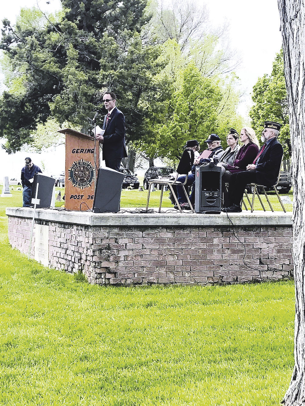 Remembering Soldiers' Sacrifices: American Legion Post 36 hosts Memorial Day Ceremony