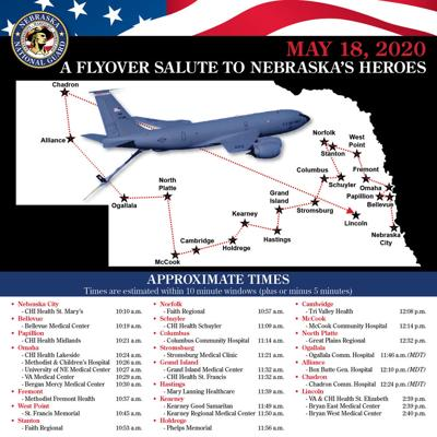 Air National Guard reschedules flyover salute to Nebraska heroes