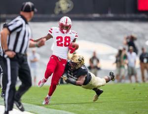 Dynamic game for Nebraska running back Maurice Washington has frustrating end