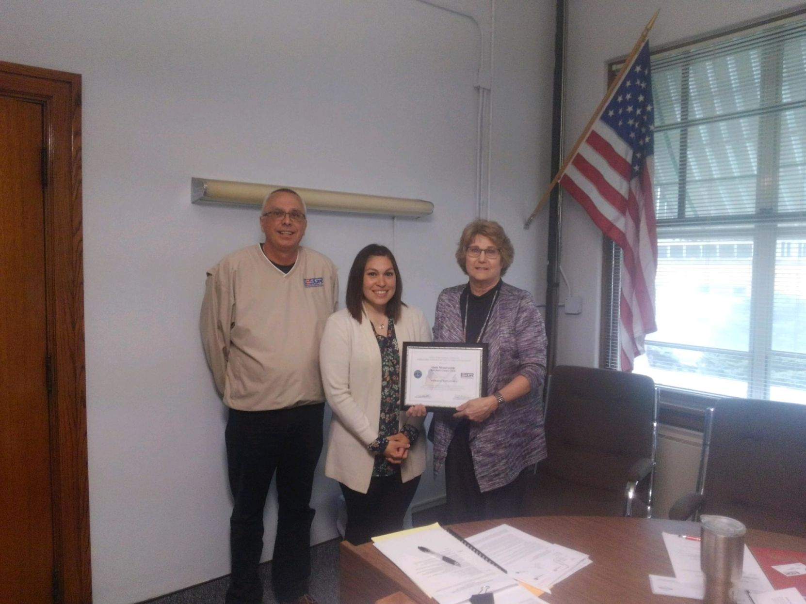 County Clerk Recognized by Department of Defense for Patriotic Support