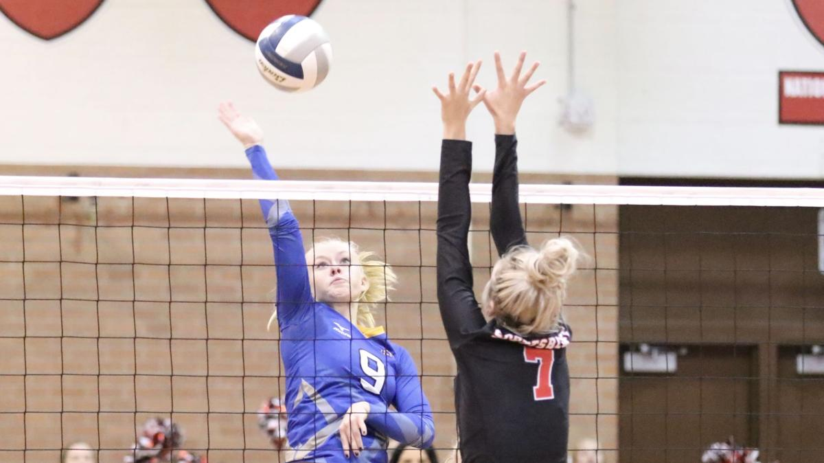 Gering volleyball team places 4th in GNAC Tournament