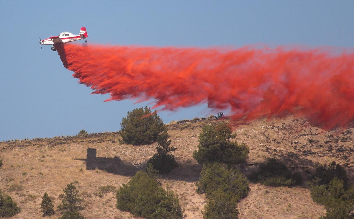 Vista Trend fire near Gering damages 3,600 acres; 1,000 acres reported damaged in Post fire near Crawford
