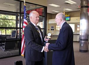 Nebraska Crime Commission honors Don Overman for 20 years of service