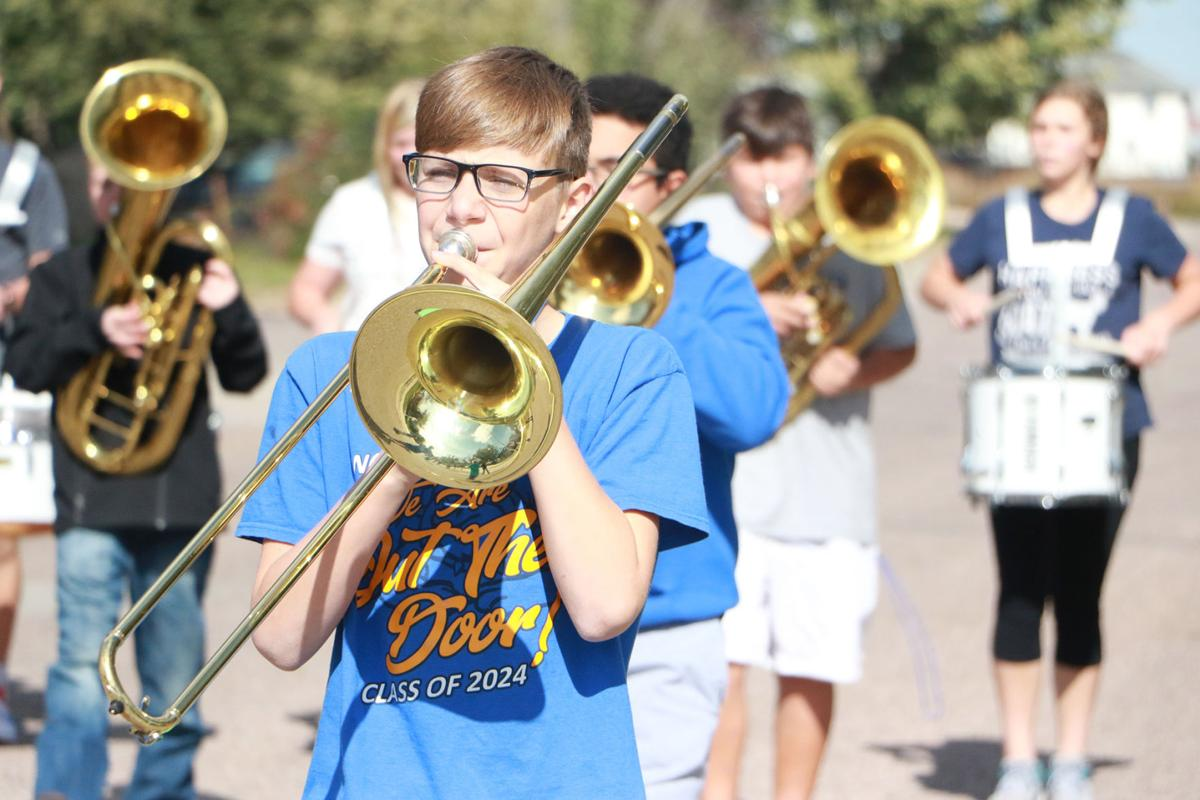 PHOTOS: Gering Junior High School marching band