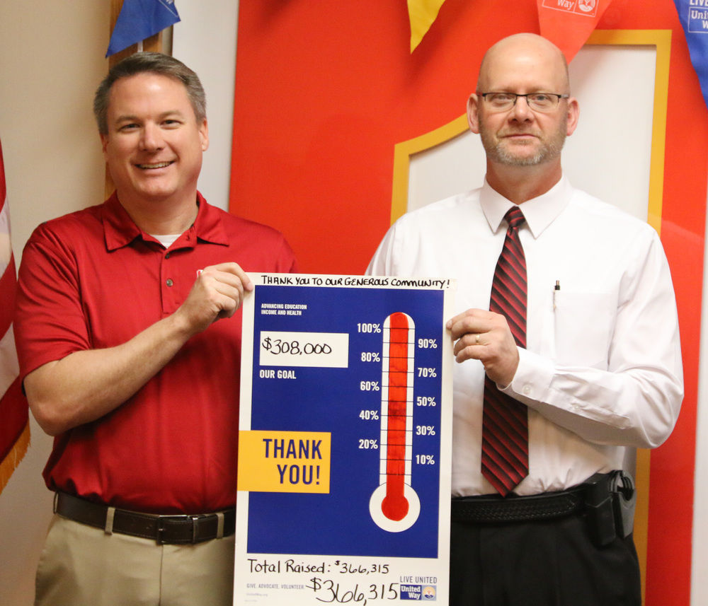 United Way fundraising campaign reaches goal and more
