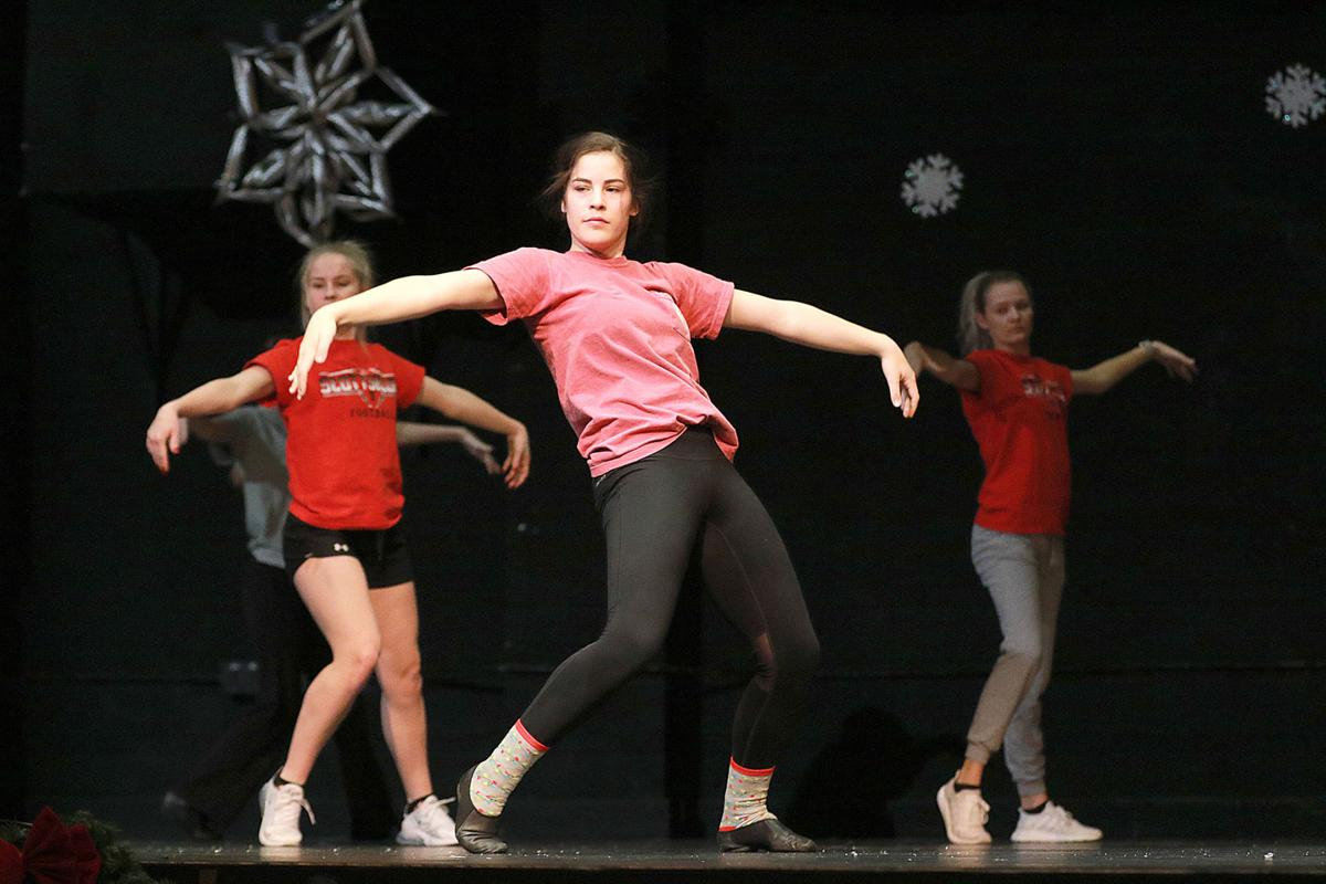 SHS Drill Team stepping into Christmas with Holiday Extravaganza