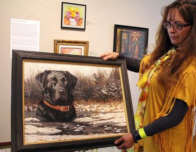 Works by late wildlife artist, Charlotte Edwards, will be on display during Oregon Trail Days