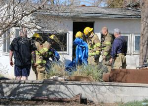 Firefighters put out attic fire south of Gering