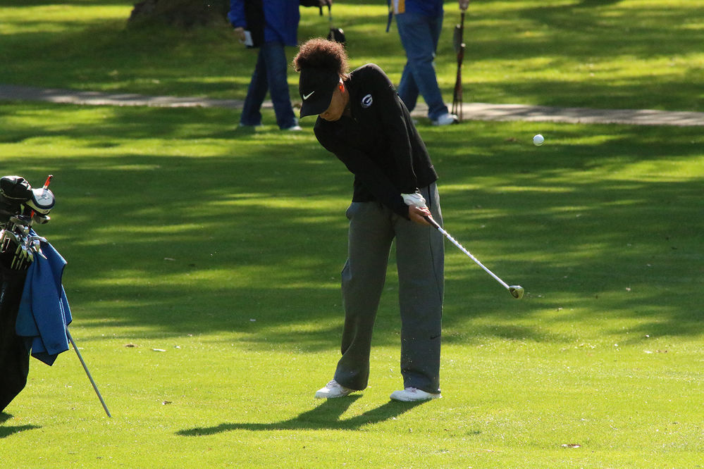 Scottsbluff girls take the lead, Gering close behind after first day of state golf