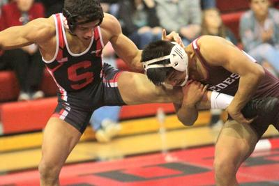 Scottsbluff wrestling team claims pair of dual wins