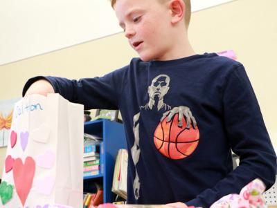 Lincoln second graders enjoy Valentine's Day
