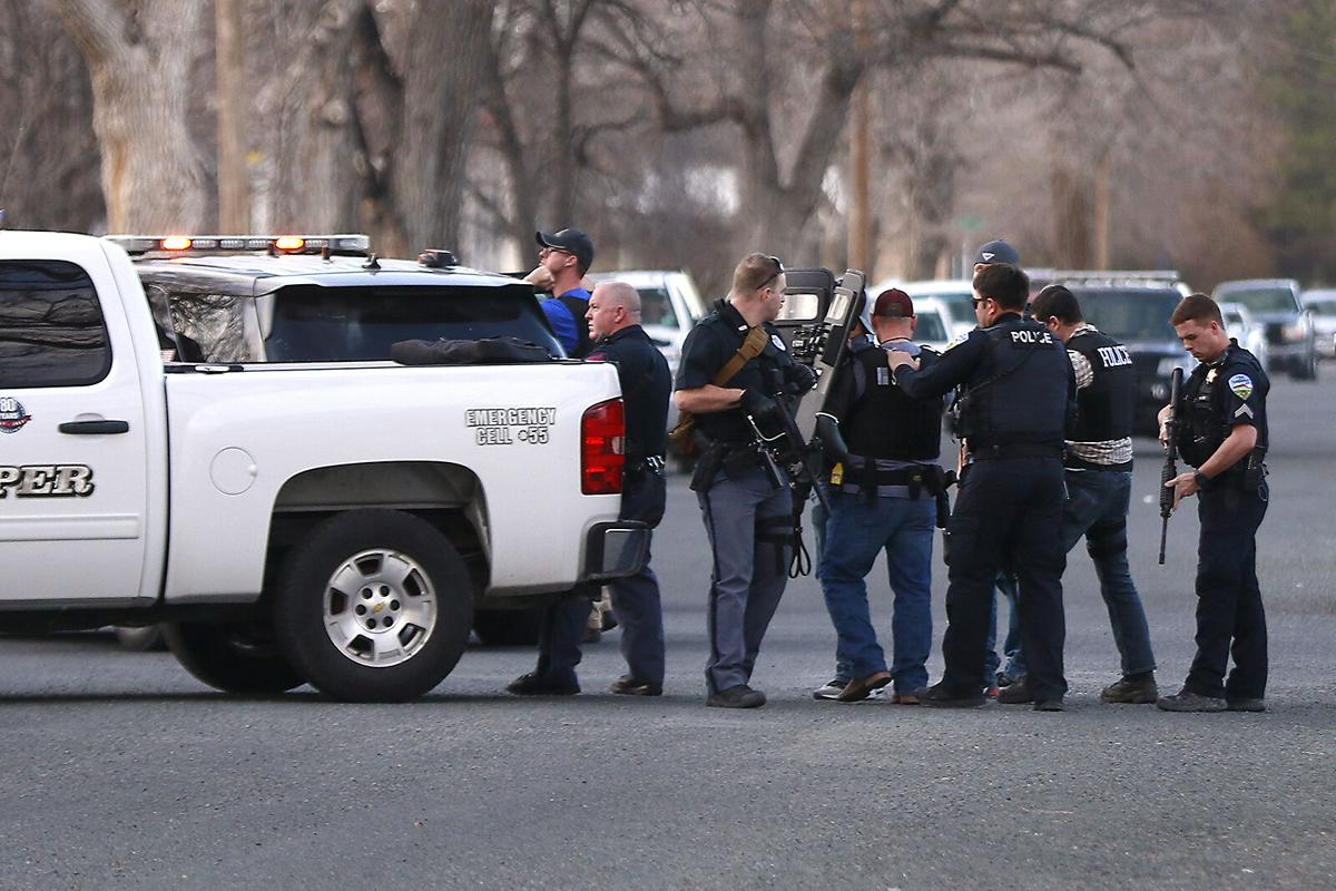 Standoff in Lincoln Heights area ends; two taken into custody