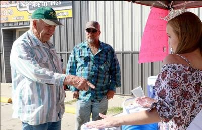 Miss Scotts Bluff County Makinzie Gregory continues fundraiser Saturday